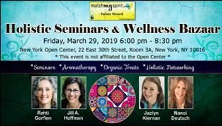 Free ! Holistic Seminars & Wellness Bazaar